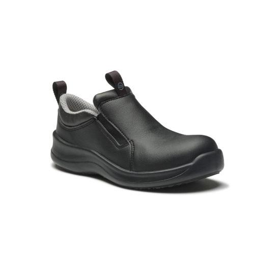 SafetyLite - Black Slip On