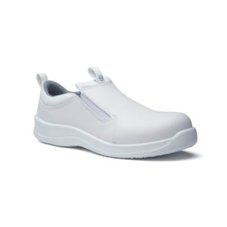 SafetyLite - White Slip On